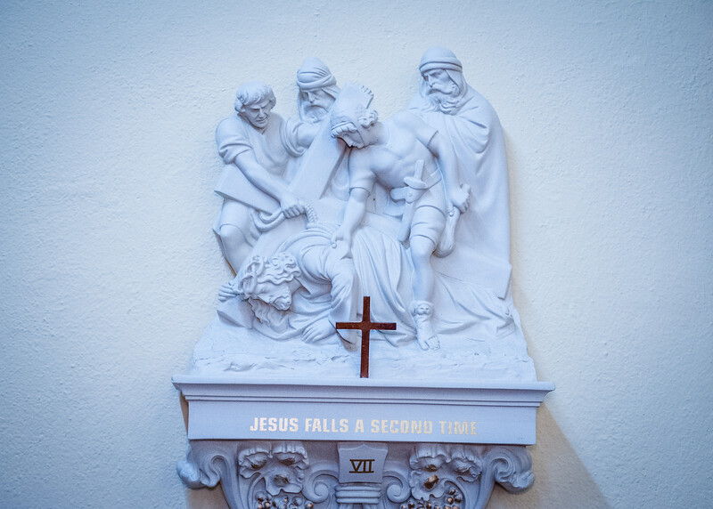 Station of the Cross VII