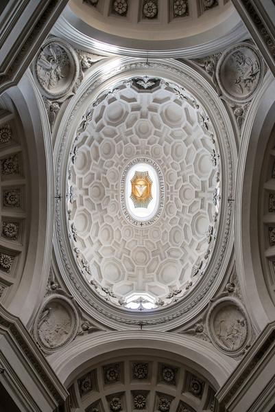 Dome of San Carlo alle Quattro Fontane