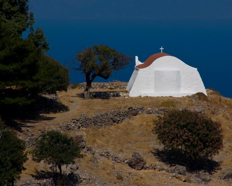 Lindos chapel