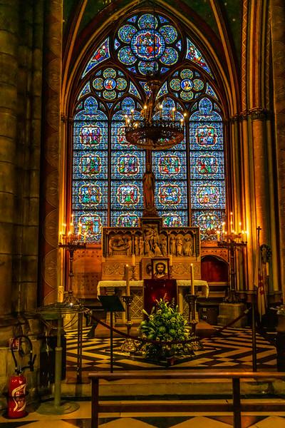 Crown of Thorns Chapel, Notre Dame de Paris