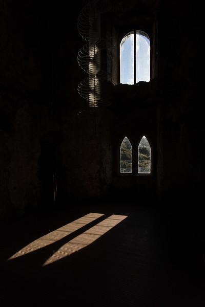 Inside Manorbier