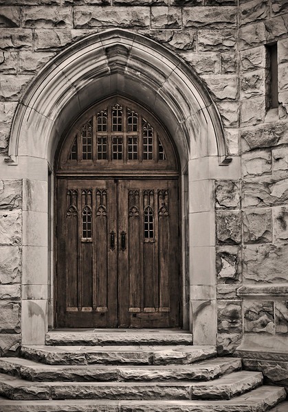 All Saints Chapel - Sewanee, TN - Narthex Entry