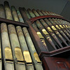 Bell Buckle Methodist Church - Wooden Pipe Organ Circa 1890.  Bell Buckle, TN