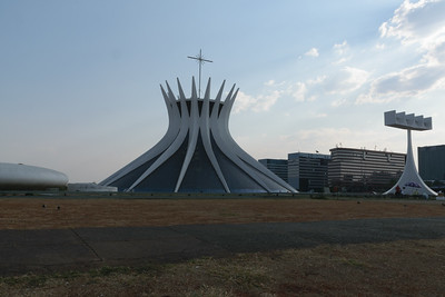 Brasília Cathedral. Oscar Niemeyer, Architect.