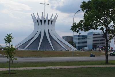 Brasilia Cathedral. Oscar Niemeyer, Architect.