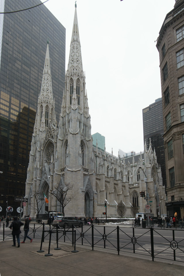 St. Patrick's Cathedral, New York, USA. Renwick Jr., Architect.