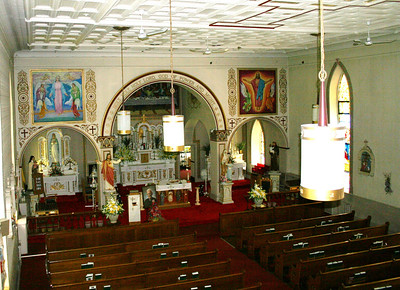 Saint Kierans Irish Roman Catholic Church - Heckscherville, PA