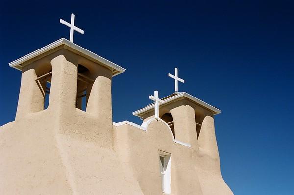 Taos Pueblo Mission.