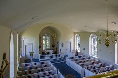 Westover Episcopal, Charles City County, VA (c. 1730) - Interior
