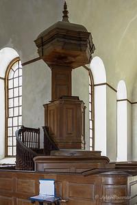 Christ Church, Lancaster County, VA (1735) - Three-level Pulpit