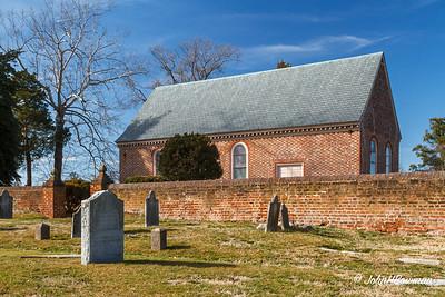 Blandford Church, Petersburg, VA (c. 1735)
