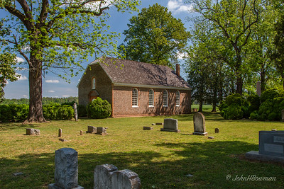 Westover Episcopal, Charles City County, VA (c. 1730)