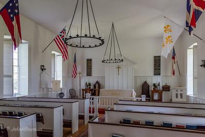Hickory Neck Episcopal, Toano, VA (1734; major alteration, 1825) - Interior