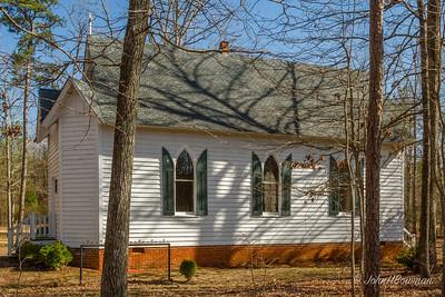 Huguenot Memorial Church, Powhatan County, VA