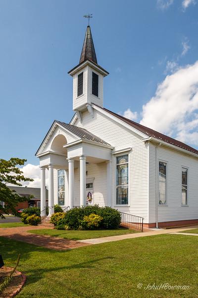 White Stone Baptist Church, Lancaster County, VA