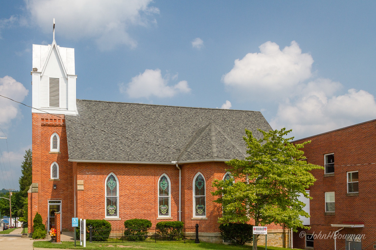 St Luke's United Methodist Church, Harrisville, WV, Ritchie County