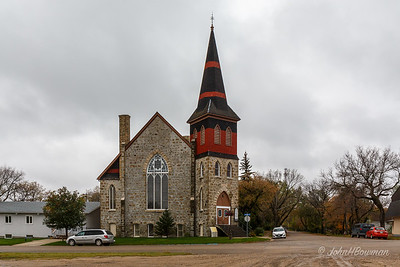 St Paul's United Church of Canada - Boissevain, MB