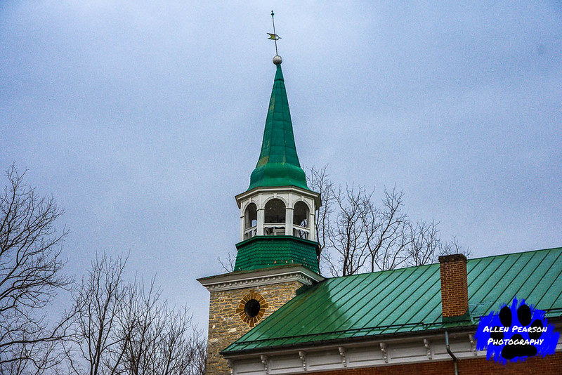 Steeple of Christ Reformed Church, Shepherdstown, WV