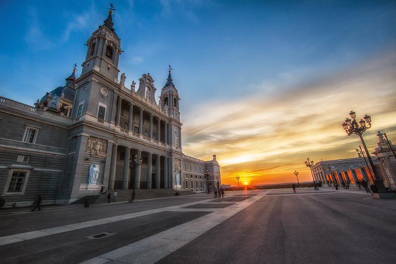 Almudena Cathedral Square