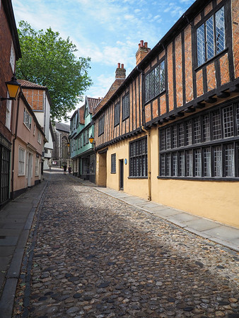 Elm Hill area of Norwich.
