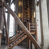 One of the incredible spiral staircases you need in order to reach the top of the tower.
