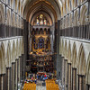 Temporary and important restoration work on the Cathedral organ.