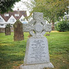 The burial place of Spike Milligan and his wife.