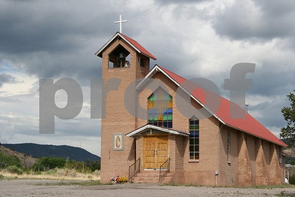 Our Lady of Guadalupe Catholic Church in Bent, NM