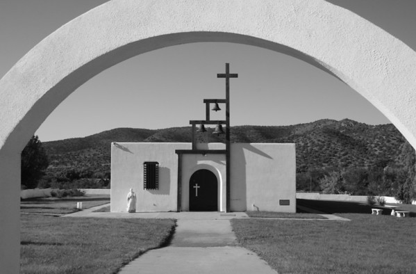 St. Jude's catholic church in San Patricio, NM