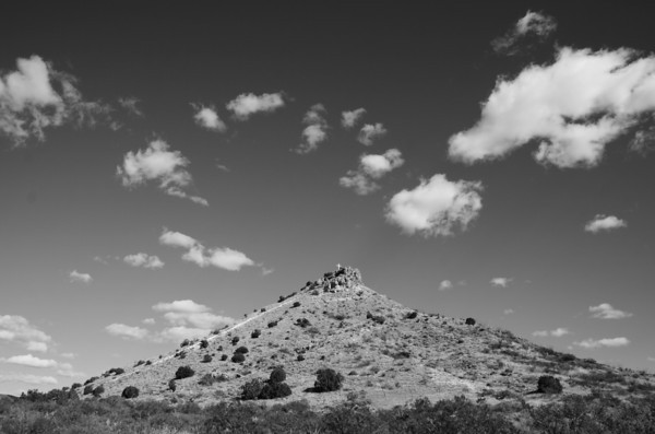 Round Mountain, between Mescalero and Tularos NM