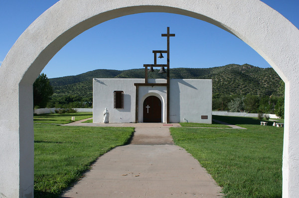 Saint Jude's church in San Patricio, NM