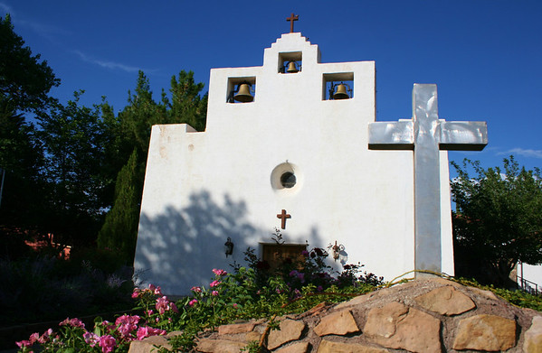 St. Francis De Paula Church in Tularosa, NM