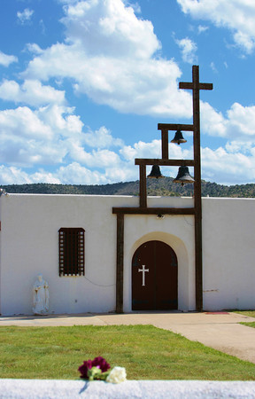 St. Jude's church in San Patricio, NM