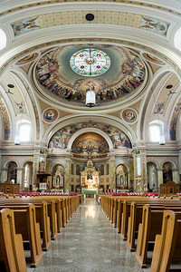 St Hyacinth Basilica Alter Panorama