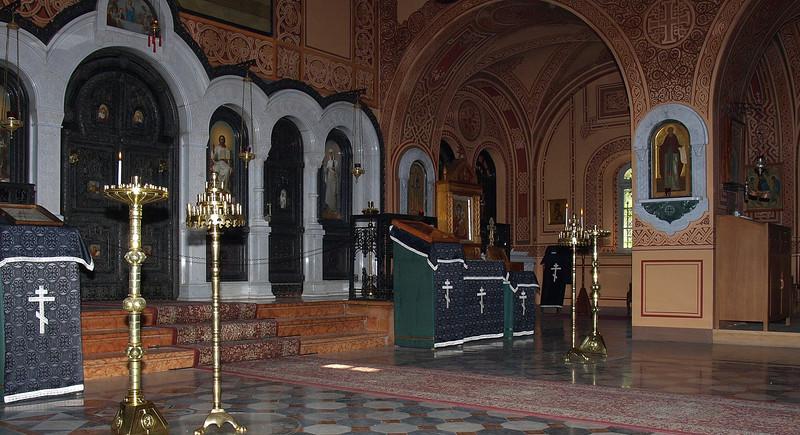 Church of Mary Magdalene; interior
