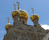 Golden domes of the Church of Mary Magdalene