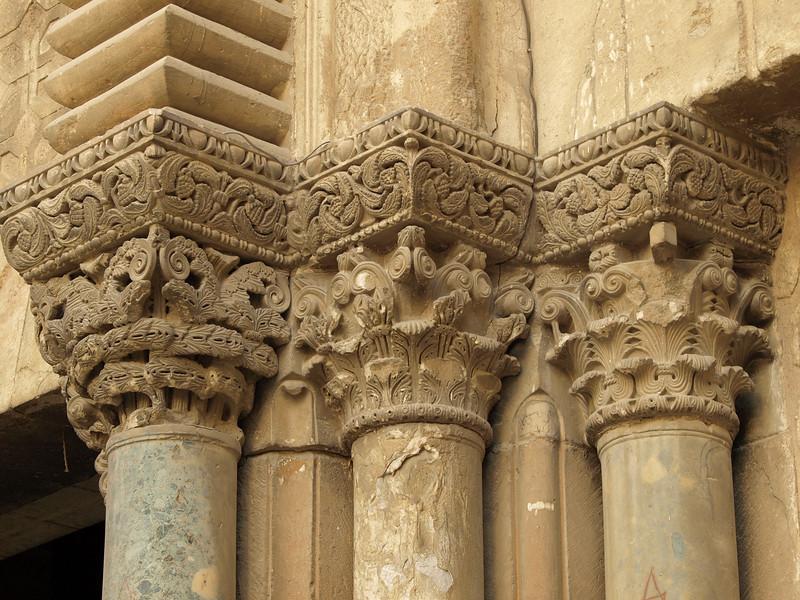 Church of the Holy Sepulchre; column detail