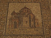 Holy Sepulchre, Chapel of St. Helena; mosaic of an Armenian church