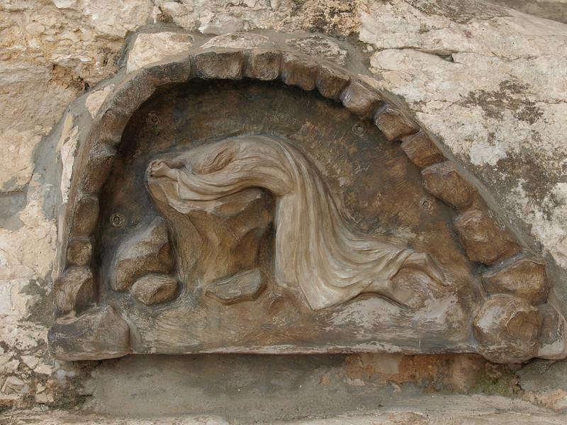 Garden of Gethsemane; commemorating the spot where Christ prayed before His arrest