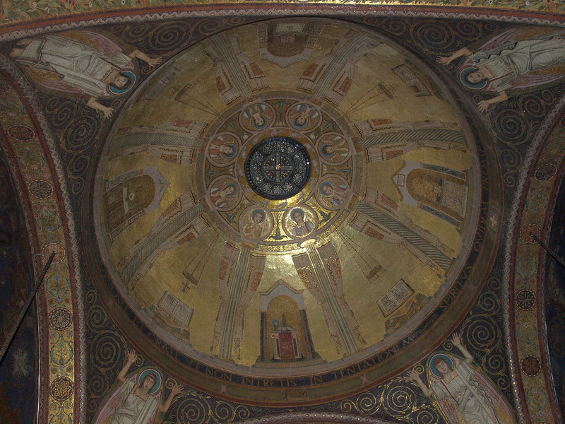 Basilica of the Agony/Basilica of All Nations - dome detail