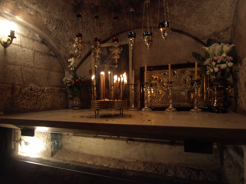 The site believed by some to be Mary's tomb