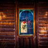 Window in Allenspark Community Church