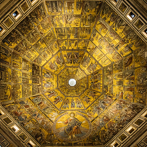 Baptistry Ceiling - Florence, Italy