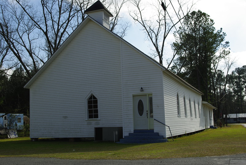 African American Church, Alapaha, Georgia.