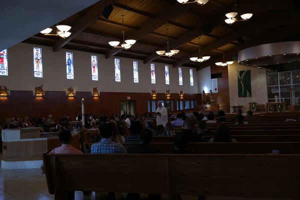 Emyr Alastair Sibayan's Baptism (St. Anthony's, Manteca, CA)