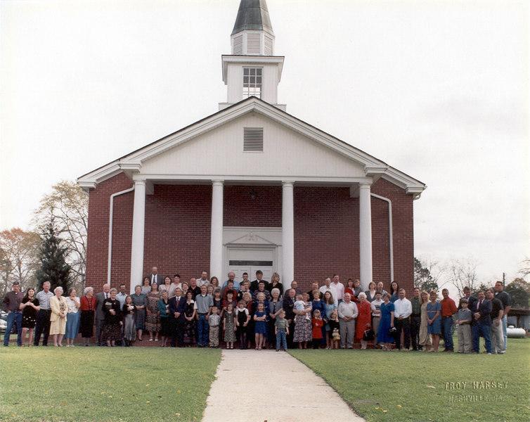 Alapaha First Baptist Church, 1990s