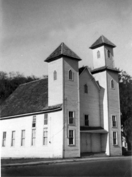 The Milltown Baptist Church was built in 1857