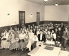 Photo at Nashville Primitive Baptist Church, February 1956, during Centennial (Photo courtesy of Jim McGill)
