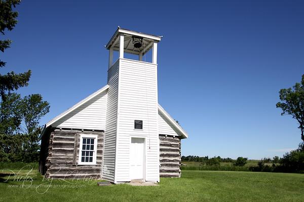Brown Earth Indian Church & Cemetery - South Dakota