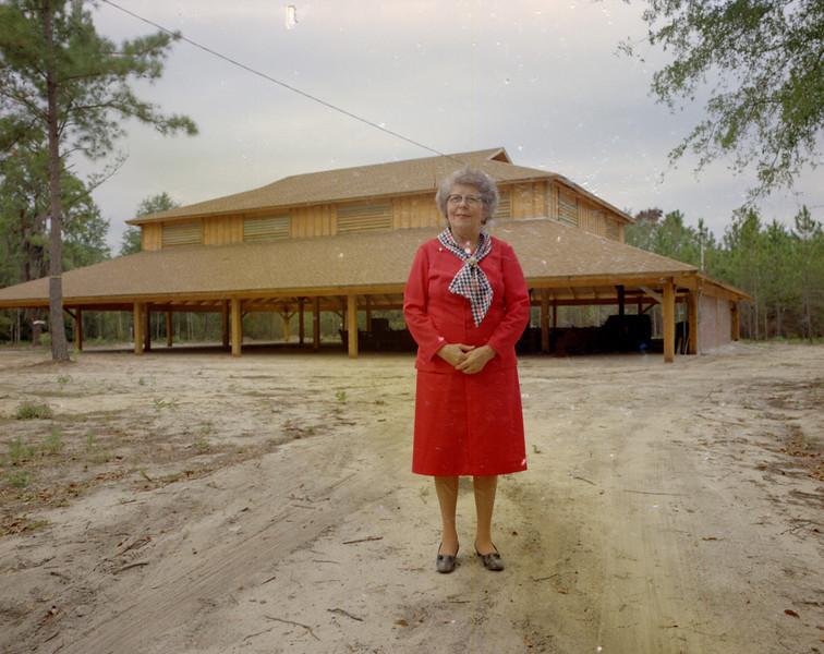 Mrs J D Tygart at Camp Tygart_10-1-1972